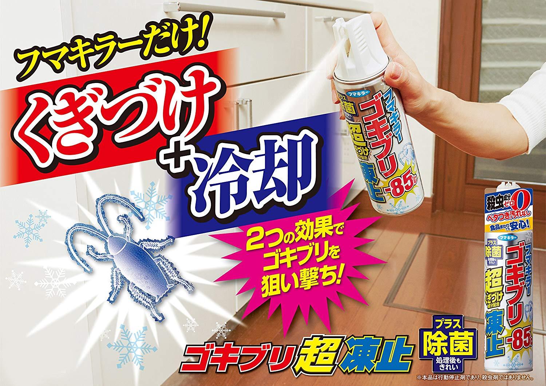 ゴキブリ凍止ジェットの画像